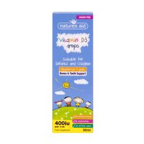 Vitamin D3 400iu Drops for infants & children