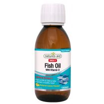 Fish Oil (Omega-3) Liquid (με Βιταμίνη D3)