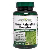 Saw Palmetto Complex with Nettle, Zinc & Amino Acids