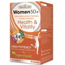 Women 50+ Multi-Vitamins & Minerals