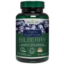 Organic Bilberry 7500mg