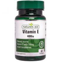 Vitamin E (Natural) 400iu
